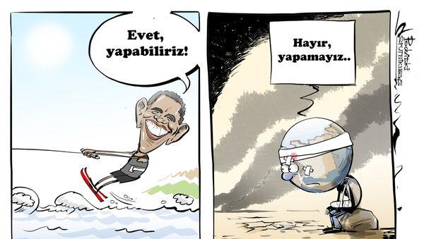 ABD eski başkanı Barack Obama tatilde - Sputnik Türkiye