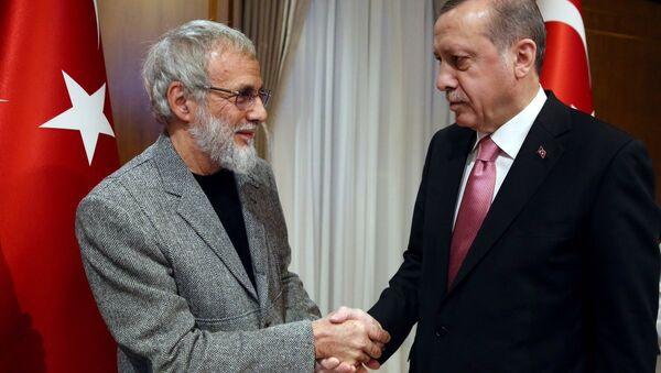Cumhurbaşkanı Recep Tayyip Erdoğan- Yusuf İslam - Sputnik Türkiye