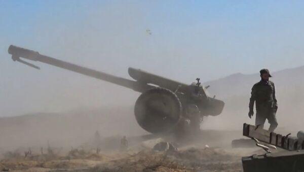 Suriye silahlı kuvvetleri IŞİD militanlarına ağır kayıplar yaşatmaya devam ediyor. - Sputnik Türkiye