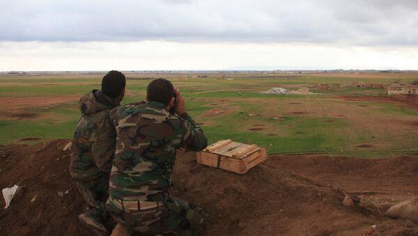 El Bab- Suriye ordusu - Sputnik Türkiye