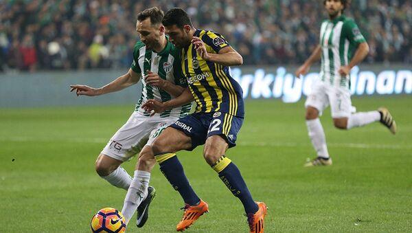 Bursaspor-Fenerbahçe maçı - Sputnik Türkiye