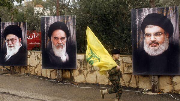 Hizbullah / Hasan Nasrallah - Ali Hamaney - Ruhullah Humeyni - Sputnik Türkiye
