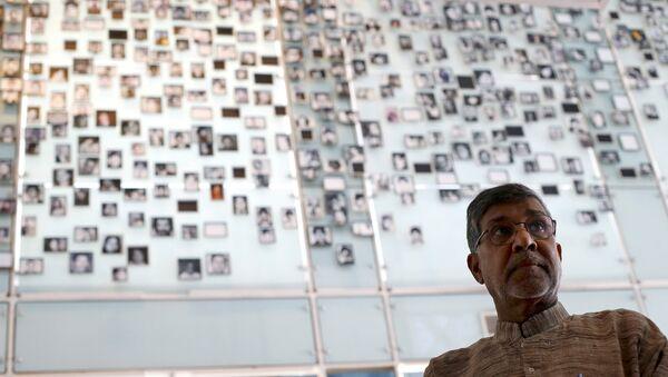 Hindistanlı çocuk hakları savunucusu Kailaş Satyarthi - Sputnik Türkiye