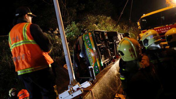 Tayvan'da son 30 yılın en büyük trafik kazası: 32 ölü - Sputnik Türkiye