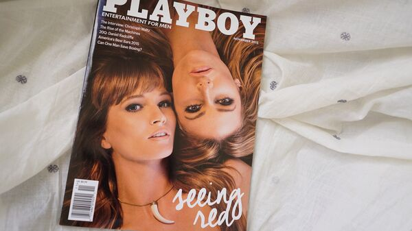 Playboy kapağı - Sputnik Türkiye