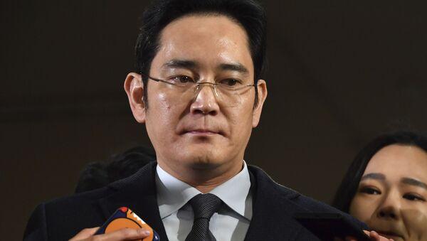 Samsung veliahtı Lee Jae-yong - Sputnik Türkiye