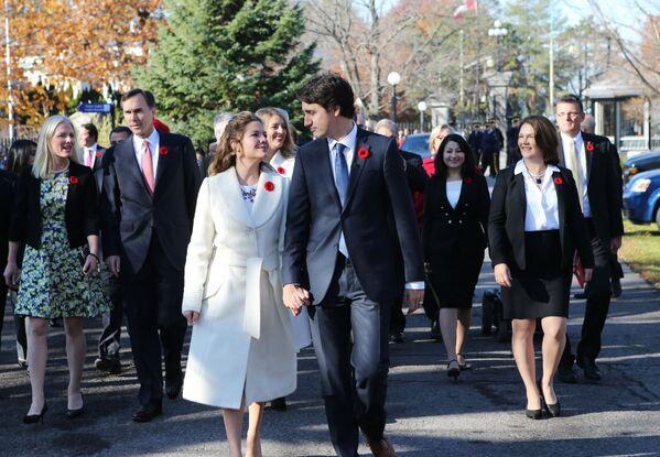 Kanada Başbakanı Justin Trudeau ve eşi Sophie Grégoire - Sputnik Türkiye