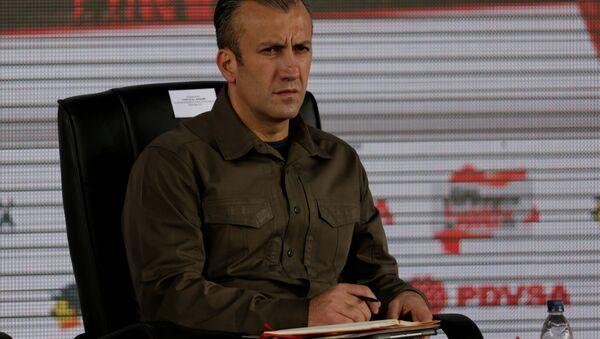 Venezüella Başkan Yardımcısı Tareck El Aissami - Sputnik Türkiye