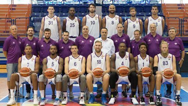 Ironi Nahariya - Gaziantep basketbol takımları - Sputnik Türkiye