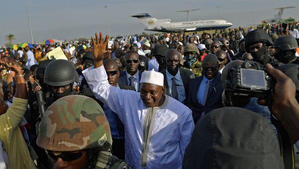 Gambiya Devlet Başkanı Adama Barrow - Sputnik Türkiye