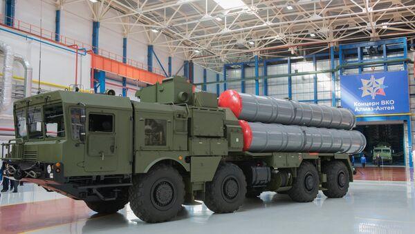 Almaz-Antey üretimi füze savunma sistemi - Sputnik Türkiye