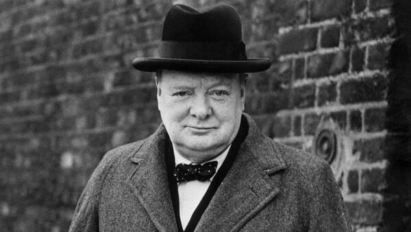İngiltere eski Başbakanı Winston Churchill - Sputnik Türkiye