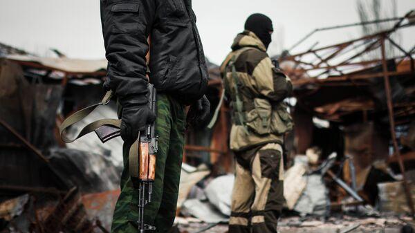 Situation in Donbass - Sputnik Türkiye