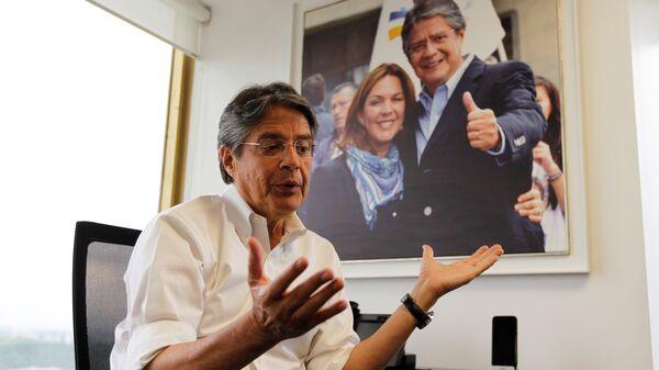 Ekvadorlu devlet başkan adayı Guillermo Lasso - Sputnik Türkiye