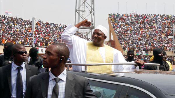 Gambiya'da Adama Barrow dönemi - Sputnik Türkiye