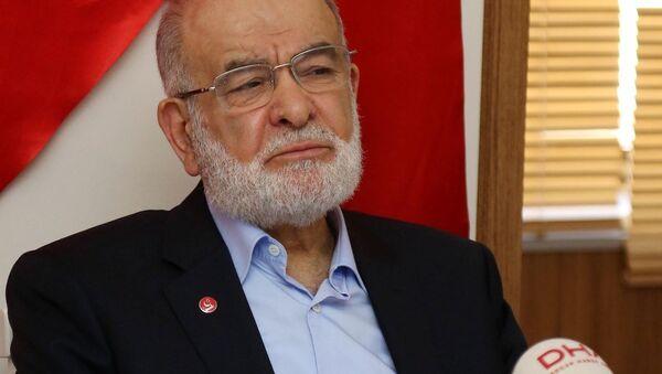 Saadet Partisi (SP) Genel Başkanı Temel Karamollaoğlu - Sputnik Türkiye
