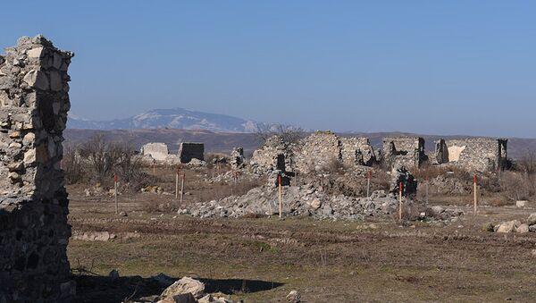 Ermeni işgalinden kurtulan Azeri köyü yeniden inşa ediliyor - Sputnik Türkiye