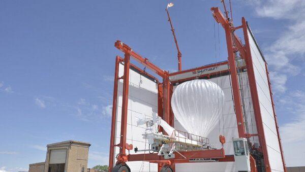 Google'ın ücretsiz internet için kullanacağı balonlar - Sputnik Türkiye