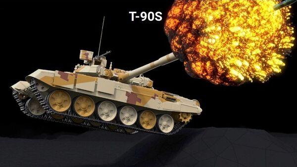 Rus T-90S tankı. - Sputnik Türkiye