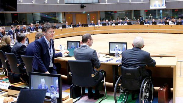 Euro Bölgesi Maliye Bakanları toplantısı - Sputnik Türkiye