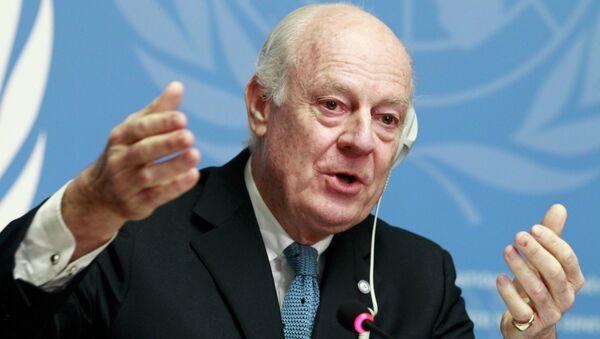 BM Suriye Özel Temsilcisi Steffan de Mistura - Sputnik Türkiye