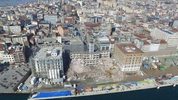 Karaköy yolcu salonu - Sputnik Türkiye