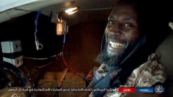 İngiliz IŞİD militanı / Cemal el Haris - Sputnik Türkiye