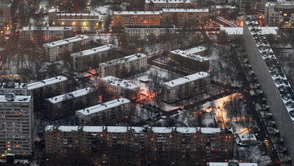 Moskova, Kruşçevka'lara veda ediyor - Sputnik Türkiye