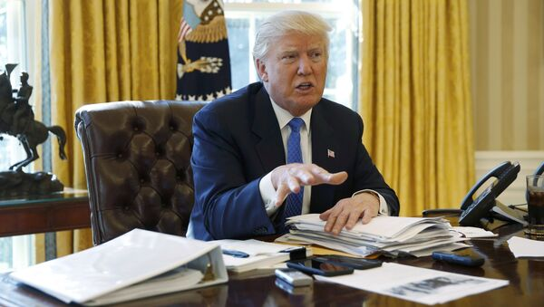 ABD Başkanı Donald Trump, özel bir mülakatta nükleer silahlarla ilgili konuştu - Sputnik Türkiye