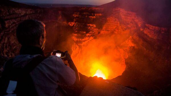 Nikaragua'daki Masaya volkanı - Sputnik Türkiye