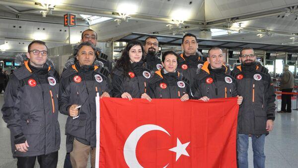 Antarktika'ya giden Türk ekibi - Sputnik Türkiye