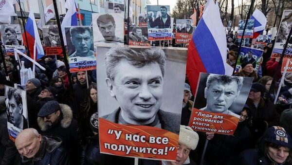 Boris Nemtsov anma - Sputnik Türkiye