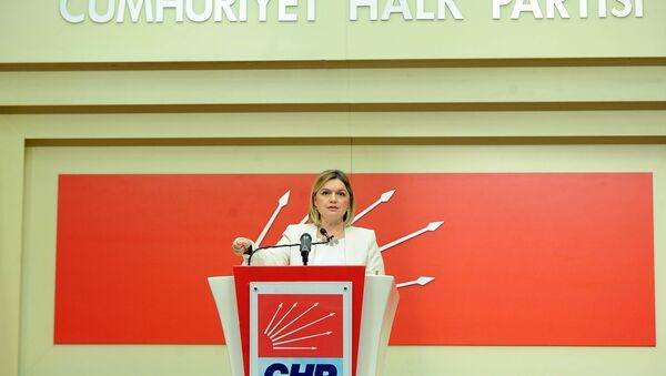 CHP Genel Başkan Yardımcısı ve Sözcüsü Selin Sayek Böke - Sputnik Türkiye