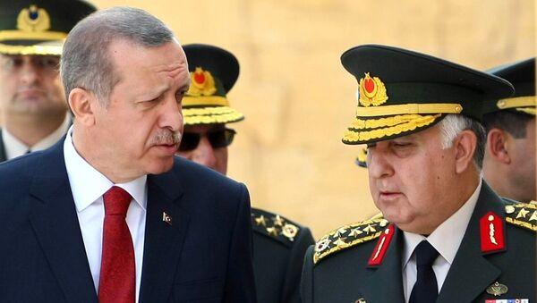 Recep Tayyip Erdoğan - Necdet Özel - Sputnik Türkiye