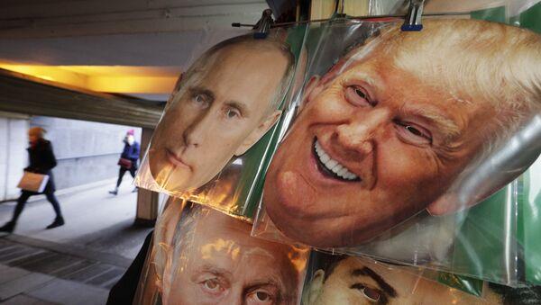 ABD Başkanı Donald Trump- Rusya Devlet Başkanı Vladimir Putin - Sputnik Türkiye