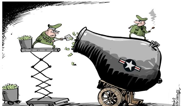 ABD savunma harcamalarını 54 milyar dolar artırıyor. - Sputnik Türkiye