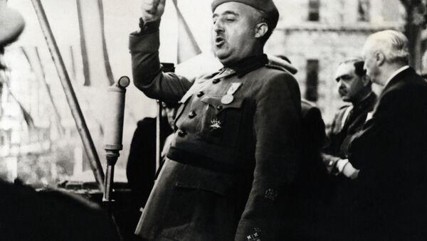Diktatör Francisco Franco - Sputnik Türkiye