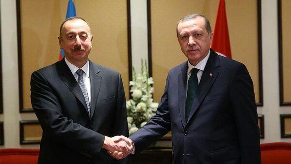 Recep Tayyip Erdoğan - İlham Aliyev - Sputnik Türkiye