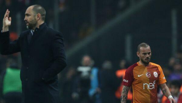 Wesley Sneijder - Igor Tudor - Sputnik Türkiye