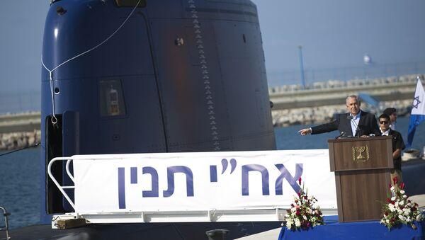 İsrail Başbakanı Benyamin Netanyahu / Denizaltı - Sputnik Türkiye
