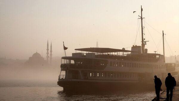 İstanbul sis - Sputnik Türkiye