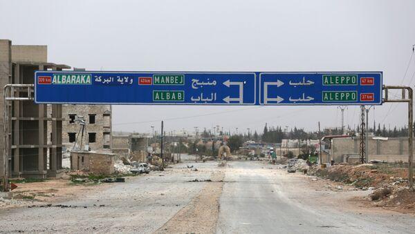 Halep - Menbiç - El Bab - Sputnik Türkiye