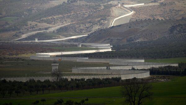 Suriye - Türkiye sınırı / Kilis - Sputnik Türkiye