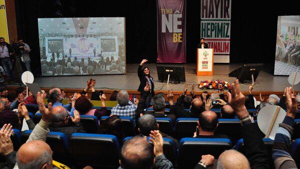 HDP 'Hayır' kampanyasına başladı - Sputnik Türkiye