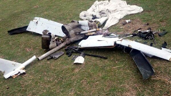 Azerbaycan ordusu, Ermenistan'a ait insansız hava aracı düşürdü  - Sputnik Türkiye