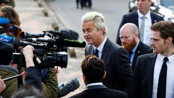 Hollanda'da Özgürlükler Partisi (PVV) lideri Geert Wilders - Sputnik Türkiye