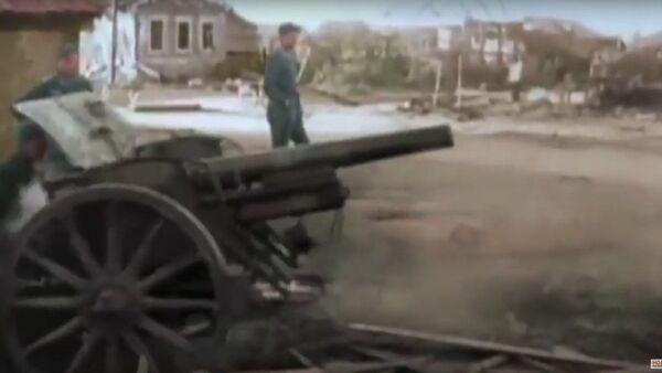 Stalingrad çatışmasının bilinmeyen renkli görüntüleri yayınlandı - Sputnik Türkiye
