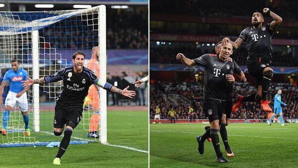 Real Madrid ve Bayern Münih çeyrek finalde - Sputnik Türkiye