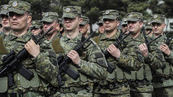 Kosova'da güvenlik kuvvetleri - Sputnik Türkiye