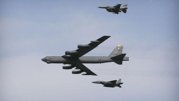 B-52 bombardıman uçakları - Sputnik Türkiye